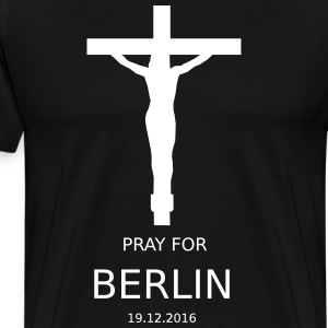 PRAY4BERLIN - T-shirt Premium Homme