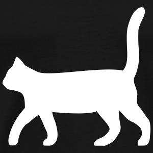 black cat - Men's Premium T-Shirt