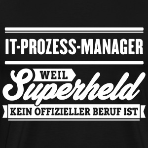 Superheld IT-Prozess-Manager - Männer Premium T-Shirt