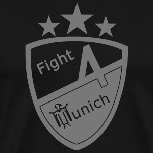 Fight 4 Munich - Logo - Männer Premium T-Shirt