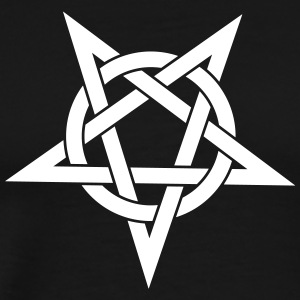 pentagram - Premium T-skjorte for menn