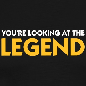 The Legend Is In Front Of You! - Men's Premium T-Shirt
