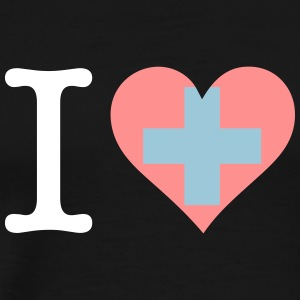 I Love Switzerland - Men's Premium T-Shirt