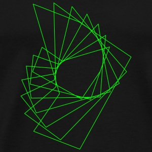 Abstract pattern - Men's Premium T-Shirt