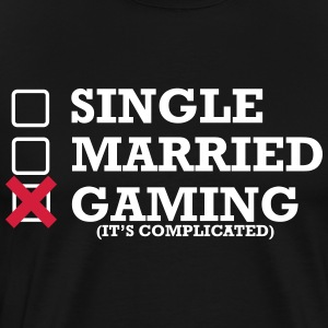 Single - Gift - Gaming - Herre premium T-shirt