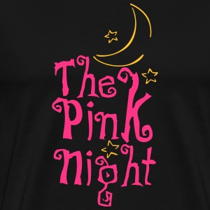 Pink Night - Mannen Premium T-shirt