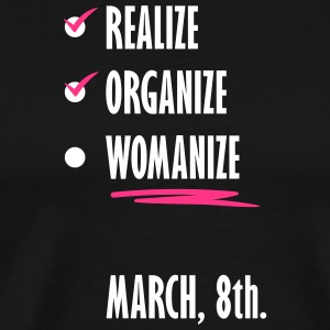 womens march3 without Hintergrund2 - Men's Premium T-Shirt