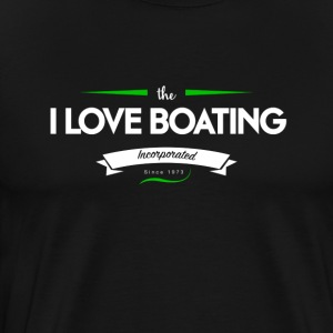 boating_logo_3 - Premium T-skjorte for menn