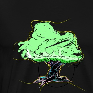 whiteDollar_tree - Premium-T-shirt herr