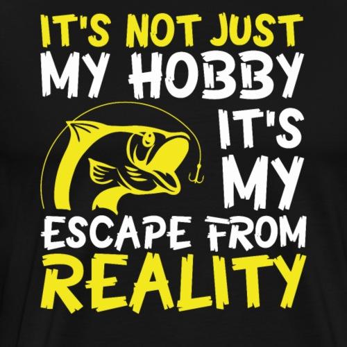 Angeln ist nicht nur mein Hobby! - Männer Premium T-Shirt