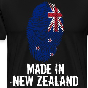 Made In New Zealand / New Zealand - Premium T-skjorte for menn