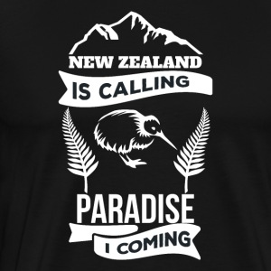 New Zealand - Herre premium T-shirt