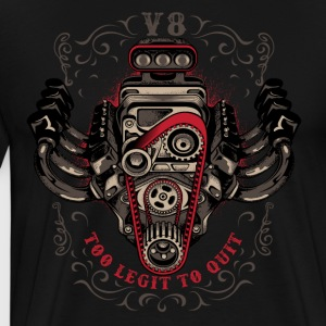 hot rod V8 - Men's Premium T-Shirt