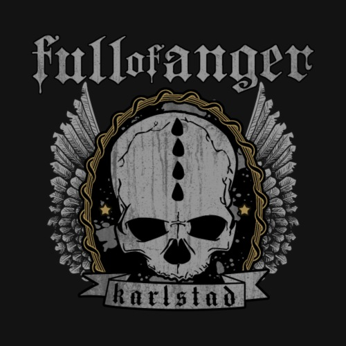 Full of Anger Logo #4 - Premium-T-shirt herr