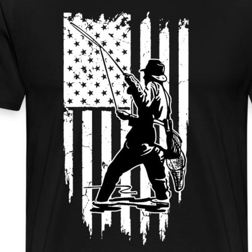FISHING AMERICA - Männer Premium T-Shirt