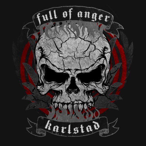 Full of Anger Logo #6 - Premium-T-shirt herr