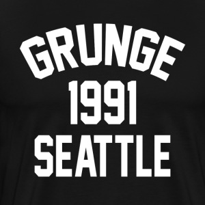 Grunge 1991 Seattle - Men's Premium T-Shirt