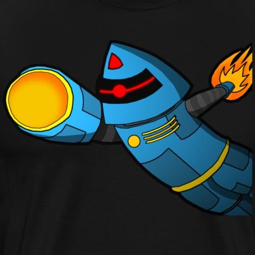 Blast off! - Mannen Premium T-shirt