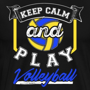 Calm Play Volleyball - T-shirt Premium Homme