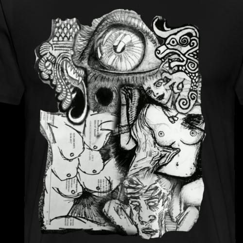 Design Number (2) - Mannen Premium T-shirt