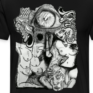 Design Number (2) - Mannen Premium T-shirt