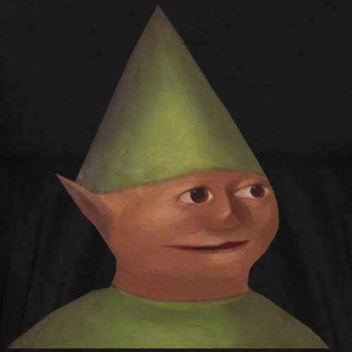Gnome Child Portrait - Men's Premium T-Shirt