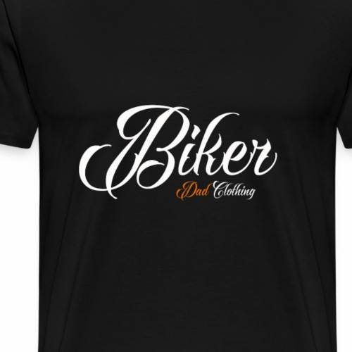 Biker Dad Design - Men's Premium T-Shirt