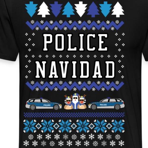 Police Navidad - Männer Premium T-Shirt