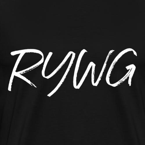 RYWG white Merchandise - Rayowag - Männer Premium T-Shirt