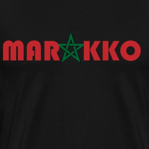 Marokko - Männer Premium T-Shirt
