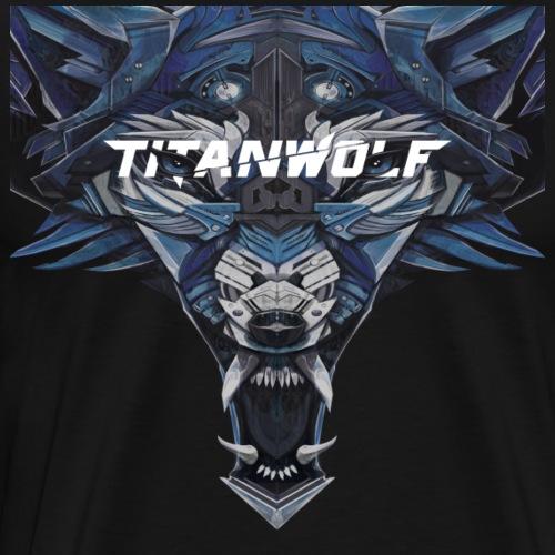 Head Logo Blue - Männer Premium T-Shirt