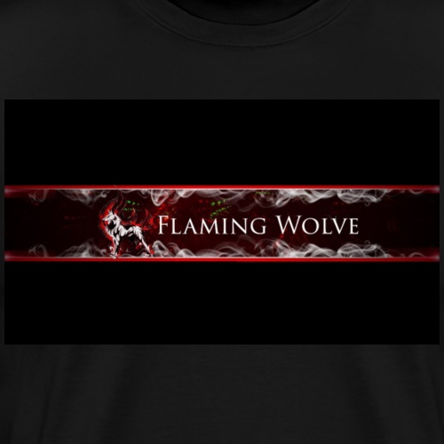 Flaming Wolve Merchandise - Mannen Premium T-shirt