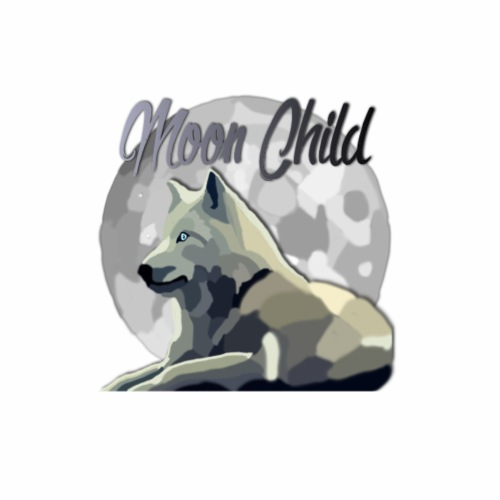 Moon Child Wolf - Men's Premium T-Shirt
