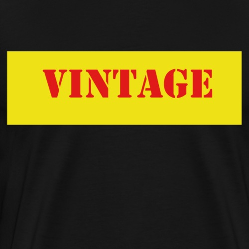 Vintage - Männer Premium T-Shirt