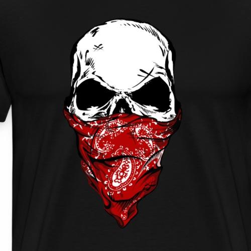 Bandit Skull - Miesten premium t-paita