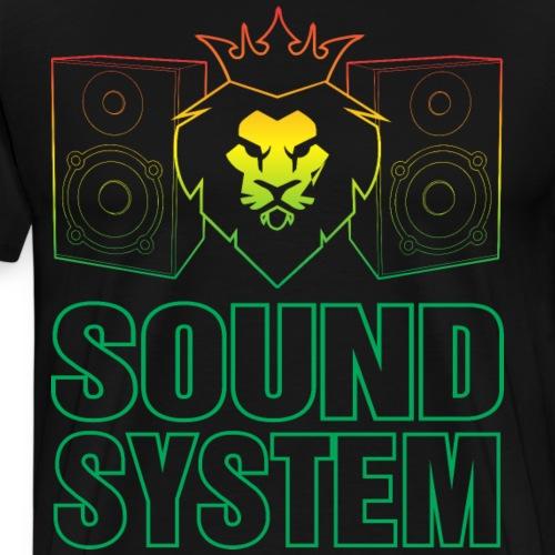 Sound System - T-shirt Premium Homme