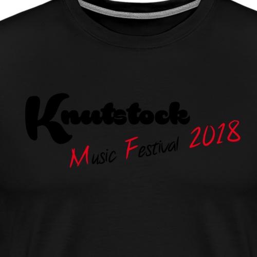 Knutstock MF Logo - Männer Premium T-Shirt