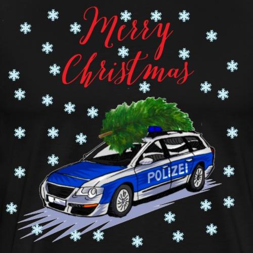 Car Christmas - Männer Premium T-Shirt