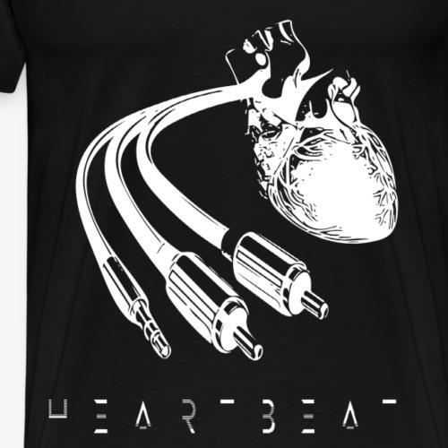 Heartbeat - Berlin TrendDesign patteBLN - Männer Premium T-Shirt