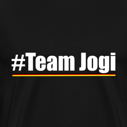 Team Jogi White - Men's Premium T-Shirt