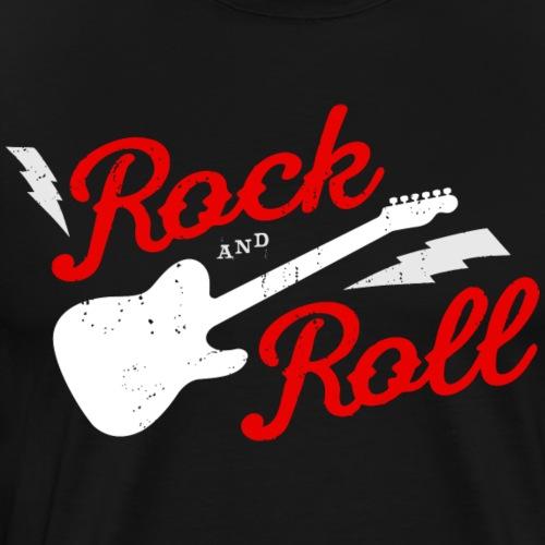 ROCK AND ROLL - Camiseta premium hombre