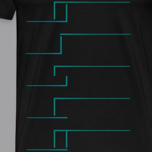 disco - Männer Premium T-Shirt
