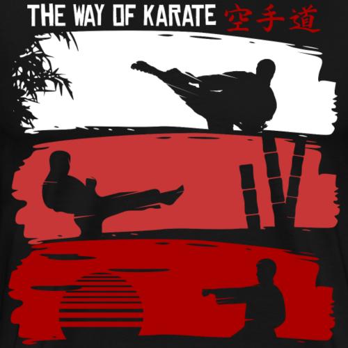 The Way Of Karate - Männer Premium T-Shirt