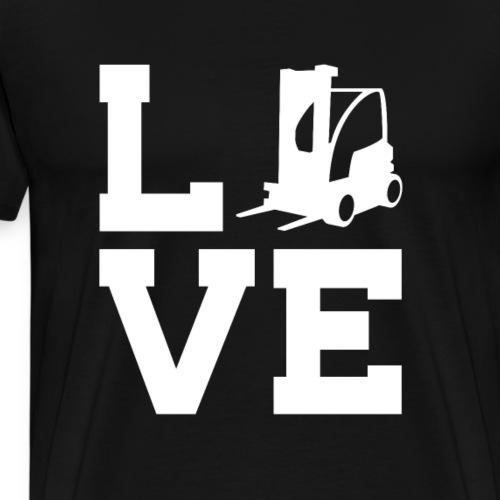 Staplert / Staplerfahrer - Männer Premium T-Shirt