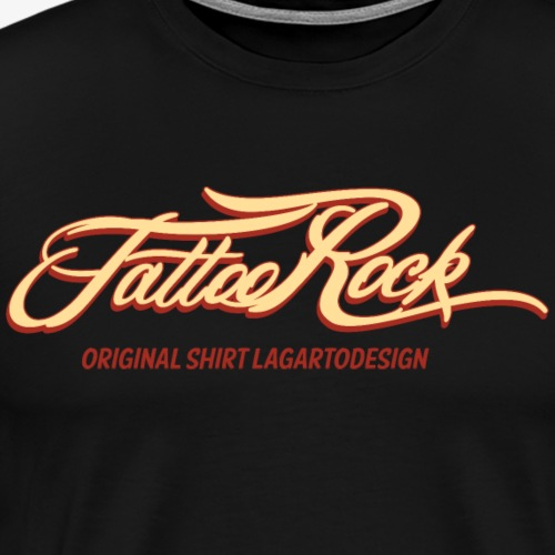 TATTOO ROCK - Camiseta premium hombre