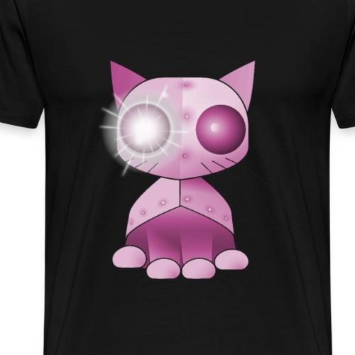 robotkatt rosa scifi leksak - Men's Premium T-Shirt