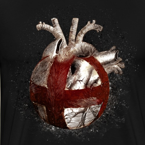 Radball | Cycle Ball Heart - Männer Premium T-Shirt