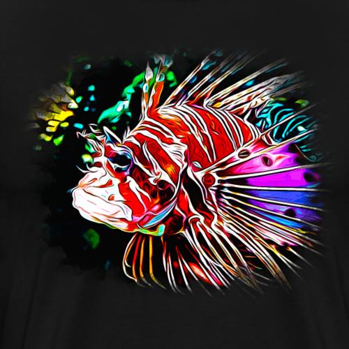 gxp feuerfisch vektor kunst - Männer Premium T-Shirt