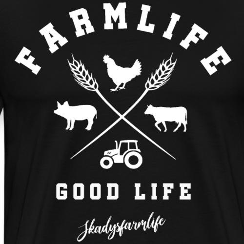 FarmlifeGoodlife - Männer Premium T-Shirt
