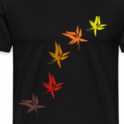 Colours of Fall - Men's Premium T-Shirt
